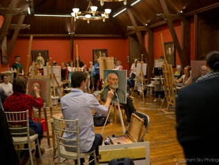 Portrait Artist of the Year, Castletown House – Culture Night 2019